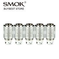 Original 5pcs SMOK TFV4 Triple Coil T3 Head 0 2ohm Core For SMOK TF V4 Tank