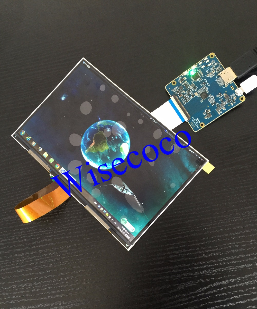 8.9 inch 2560*1600 2k IPS LCD module display monitor with HDMI-MIPI driver board for 3D  ...