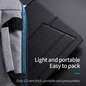 Image 3 - PU Laptop Stehen Tragbare Notebook Halter für Apple MacBook Air Pro chromebook HP laptop 11 15 zoll Klapp Computer tabelle