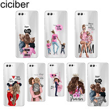 ciciber Fashion Girls Queen Super Mom For Honor 8 9 10 X Lite Pro Play TPU Clear Back Cover Soft Silicon Phone Cases Fundas