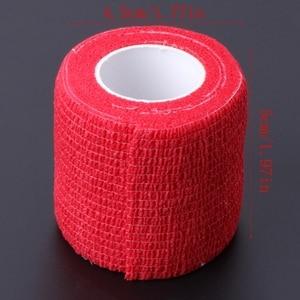 Image 5 - 6pcs Disposable Self adhesive Elastic Bandage for Handle Grip Tube Tattoo