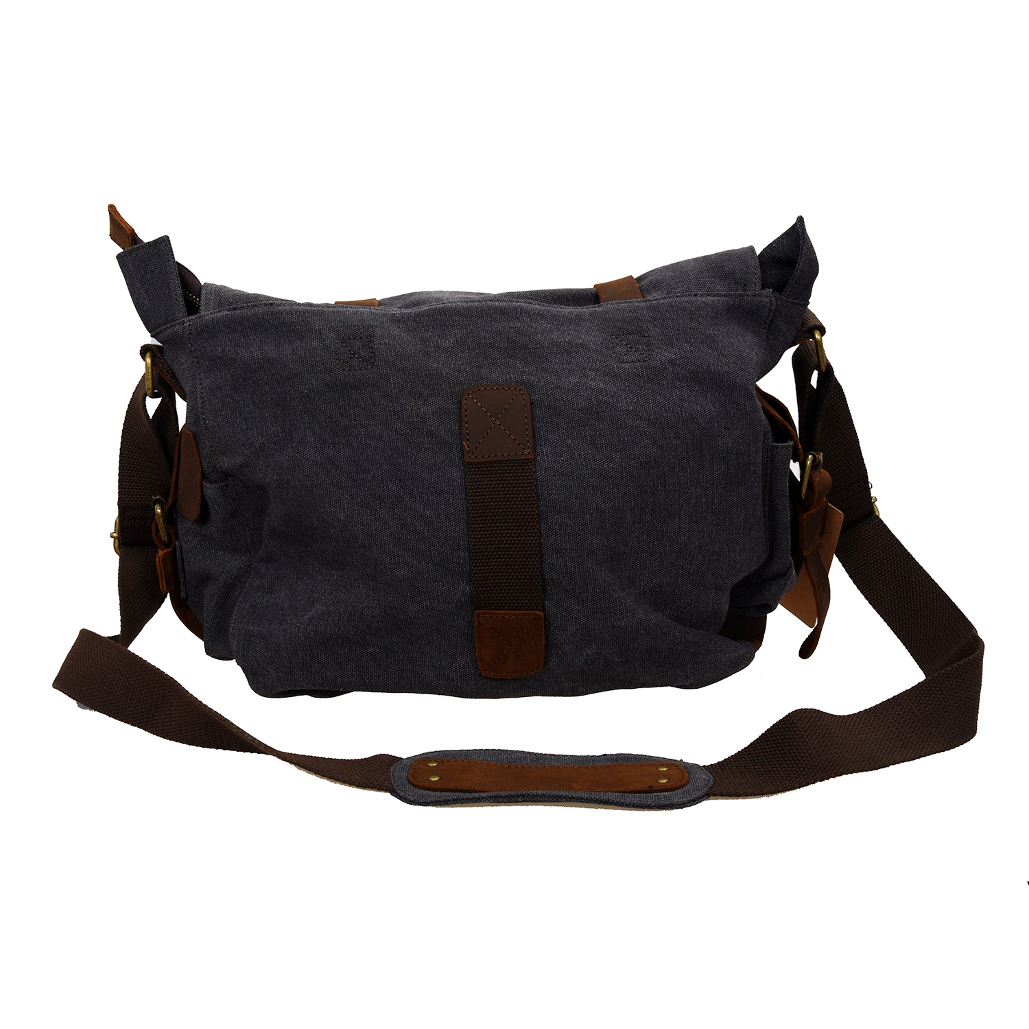 Men/'s Vintage Canvas Messenger Shoulder Bag Crossbody Sling Bag Satchel