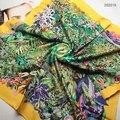 [15% de DESCONTO] 4 Cores 90x90 cm 202018 Recentes 2017 Fashion Square Lenço De Seda, Seda das senhoras Lenço, pesado Silk Twill Praça Scarf