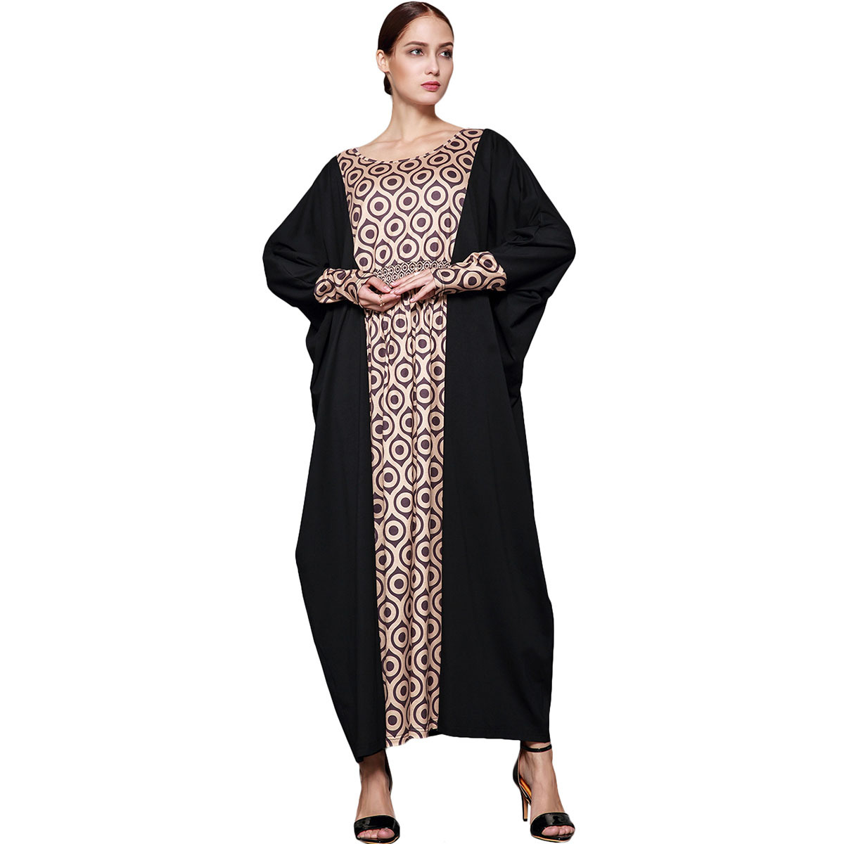 Jilbabs And Abayas Special Offer Time-limited Adult Cotton Robe Musulmane 2017 Classic Stitching Plus Long Muslim Women Abaya