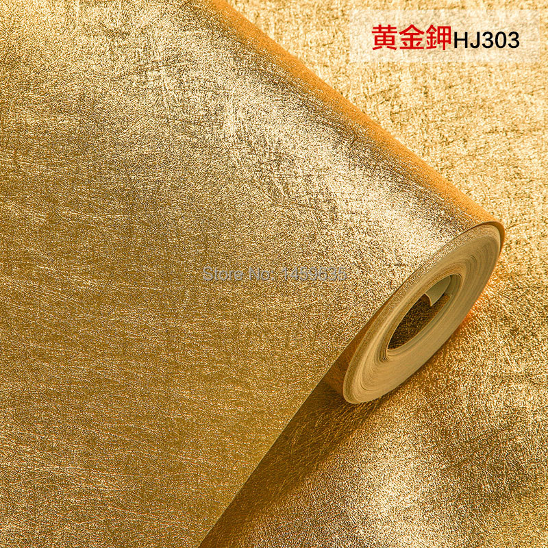 2016 Real Photo Wallpaper Papier Peint European Gold Silver Brushed Matte Background Wallpaper Bedroom Living Room Hanging Roof camino real gold купить грн