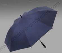3pcs/lot 135cm 4 persons Anti UV five times black coating fiberglass auto open business anti-thunder golf outdoor sport umbrella