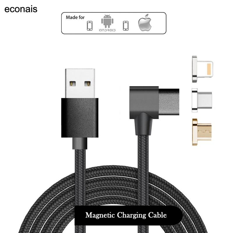 2017 Type-C Magnetic Cable For Meizu Pro6 Plus MX6 Noblue X Xiaomi 5 6 MIX Note2 5c 5s Plus 4C Redmi Pro MOTO Z Play M Charging