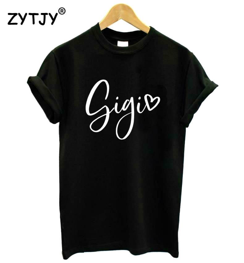 Gigi Women Tshirt Cotton Casual Funny T Shirt For Lady Yong Girl Top Tee Hipster Tumblr Ins Drop Ship S-143