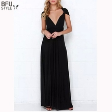 Sexy Women Boho Maxi Club Red Dress Bandage Long Maternity Dress Multiway Bridesmaids Convertible Infinity Robe Longue Femme