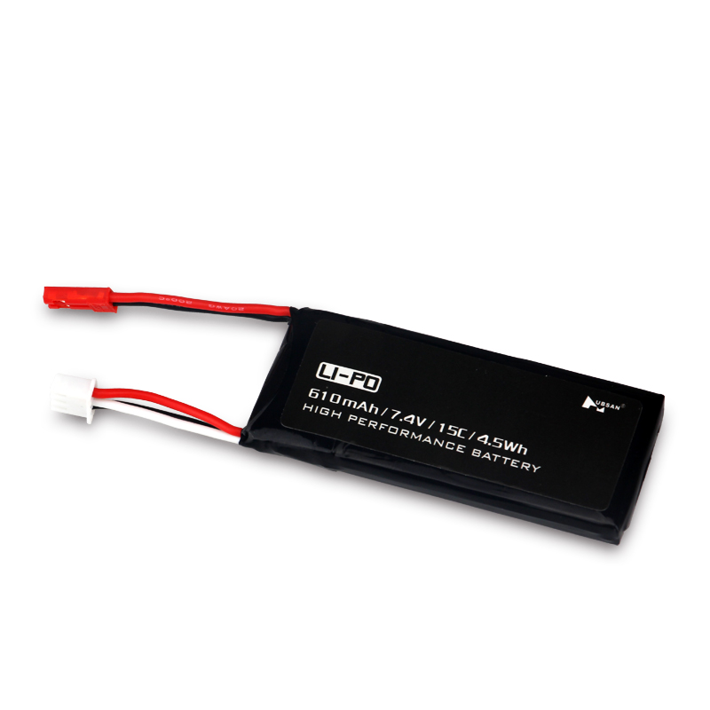 Высокая производительность тесто Hubsan 7.4 В 610 мАч 15C 2 S 4.5wh lipo Батарея для Вертолет перезаряжаемый аккумулятор rc Запчасти