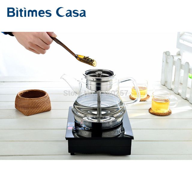 New Steam Tea Coffee Maker Tea Pot Induction Cooker Electric Oven ...