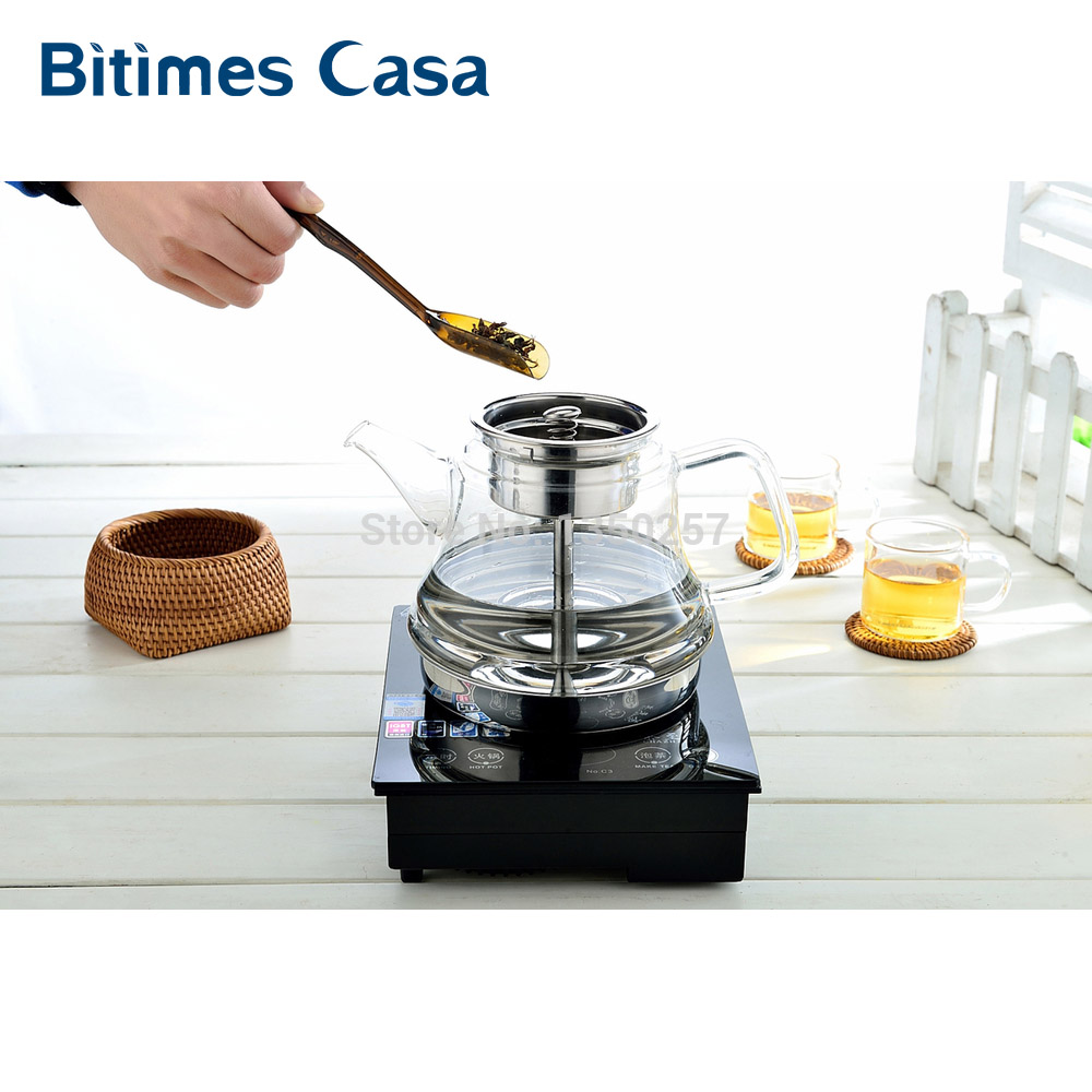 popular induction electric kettlebuy cheap induction electric  - new steam tea coffee maker tea pot induction cooker electric oven stoveteapot kettle new ml