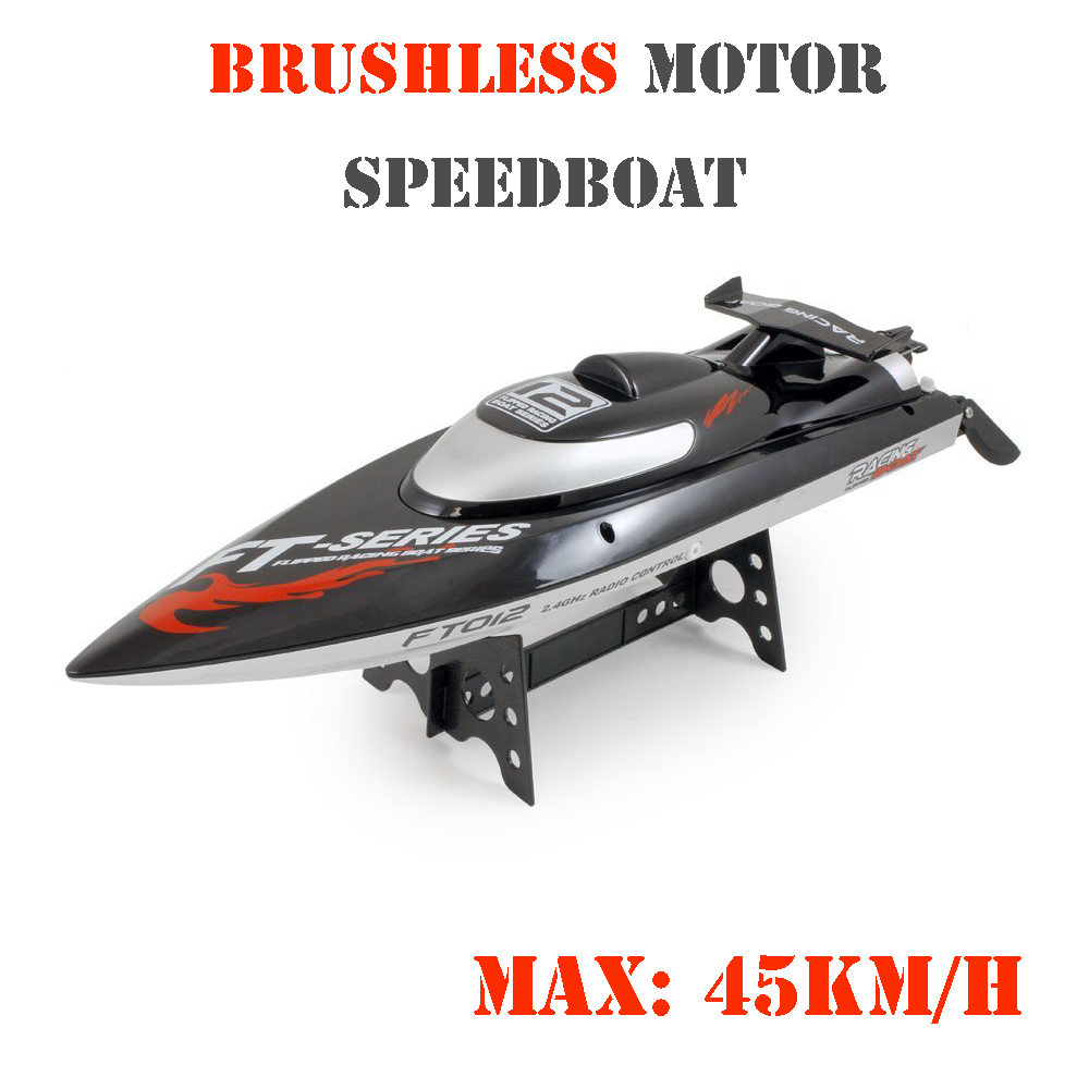 Feilun FT012 2.4Ghz 18 HIGH SPEED RC Remote Radio Control Racing Boat (Max Speed 28 MPH / 45 km/h) w/ Capsize Recovery