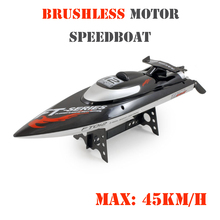 Feilun FT012 2.4Ghz 18″ HIGH SPEED RC Remote Radio Control Racing Boat (Max Speed 28 MPH / 45 km/h) w/ Capsize Recovery
