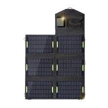 Высокое Качество 21 Вт 18 В Portable Солнечное Зарядное Устройство для Мобильного Телефона складной Панели Солнечных Батарей с Dual USB Зарядное Устройство для iphone 5S/6 S