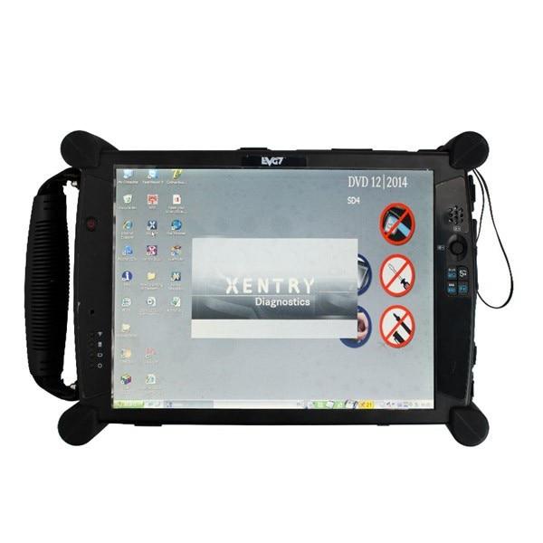12/2019 MB Star C4 SD соединяет компактную диагностику с EVG7 планшет диагностический контроллер планшетный ПК с wifi для автомобилей и грузовиков - 6