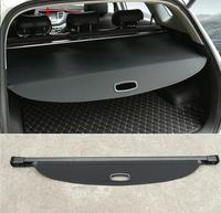 Quality case For Hyundai Tucson 2015 2017 Rear Boot Luggage Cargo Cover Parcel Shelf Car styling accessories! car styling