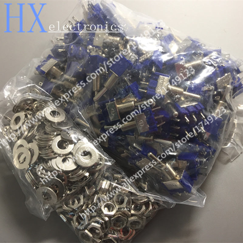 Switches Hot Sale 20pcs /lot Toggle Switch 3 Feet 3 Files Mts-103 Single-joint Lights & Lighting