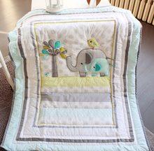 Edredon de algodão universal de 33x42, cobertores para bebês, meninos e meninas, estampa de desenhos animados, colcha e berço itens recém-nascidos