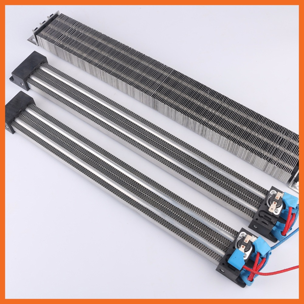120x95mm 1000W 220V PTC semiconductor air heater, electric cabinet, electric heat plate, ceramic electric heated plate, 1000w 220v sic ceramic heater w sleeve grey