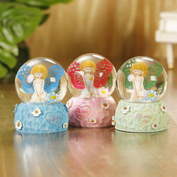 Creative Christmas Crystal Ball Crafts High Quality Crystal Ornament Nice Wedding Souvenirs For Girl Friend's Gifts Home Decor