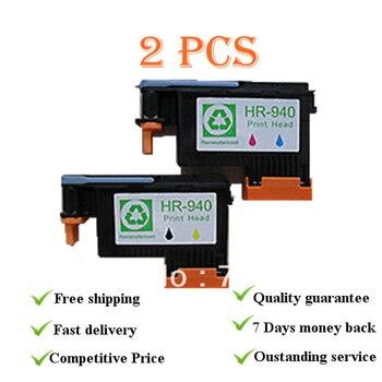 2PK 940 восстановленная печатающая головка для HP940, костюм для принтера officejet pro 8000 8500 8500A plus, C4900A C4901A