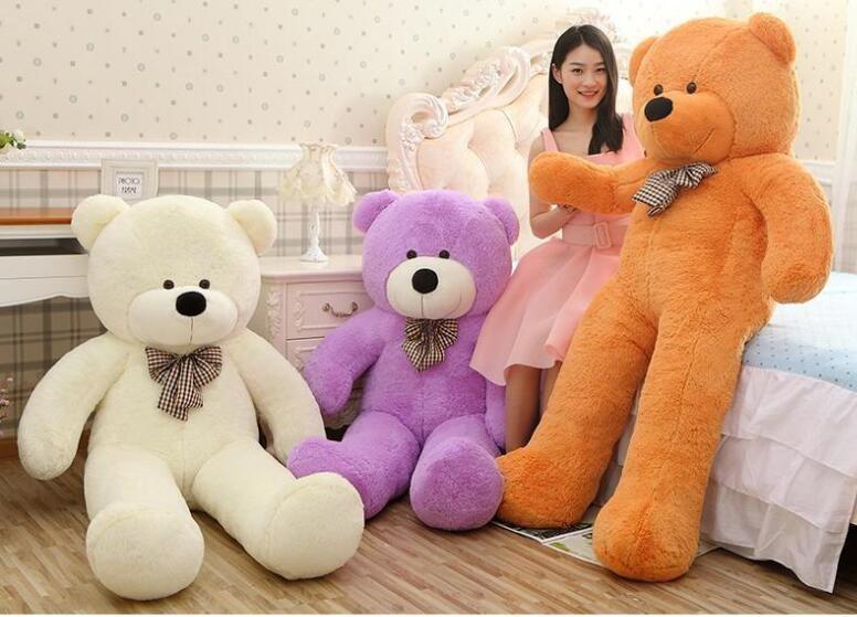 Kawaii Genuine 100CM Hug Teddy Bear Urso De Pelucia Plush Stuffed - პლუშები სათამაშოები - ფოტო 5