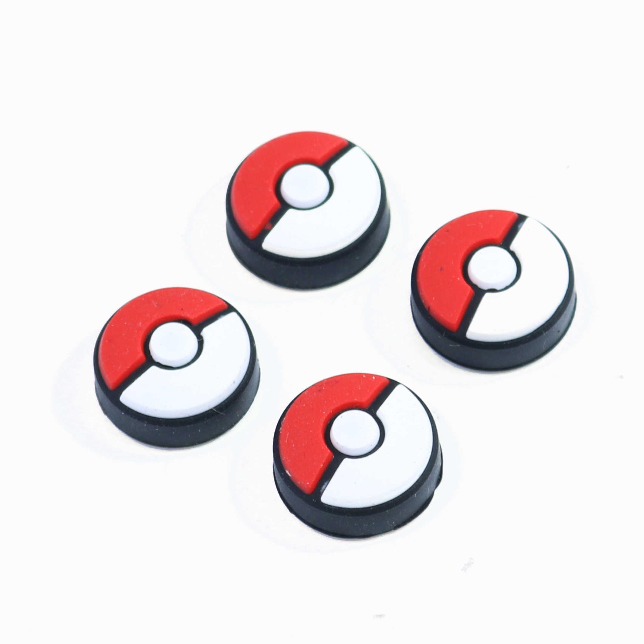 JCD 1 sztuk nakładki na przyciski Cap Joystick pokrywy skrzynka dla przełącznik do nintendo NS dla Poke ball Plus dla Pokeball kontroler do gier