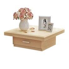 Тумбочки, мебель для спальни, Сосновая сплошная деревянная прикроватная тумбочка, тумбочка mesitas de noche, столик татами, маленький шкафчик для хранения