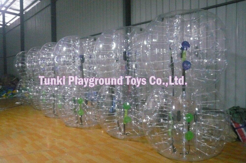 Бесплатная доставка, удивительная 1,5 м надувной Human Hamster мяч надувные бампер мяч, футбол в шарах, bubble футбол