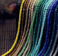 Бесплатная доставка многоцветный 2 мм 196 ШТ. Стекло Чешский хрустальные бусины/колеса шарик/транзит бусы/браслет ожерелье Ювелирных Изделий