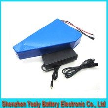 Free custom taxe triangle lithium battery 51.8V 20Ah electric bike battery 52V 1500W electric scooter battery For Panasonic cell