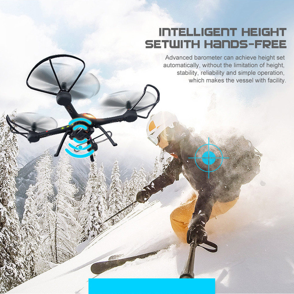 Original JJRC H11WH FPV RC Quadcopter 2.4G 4CH 6-axis Gyro Helicopter with WiFi Camera 2MP HD Modo Headless 3D-flip Set-altura headless mode jjrc h20w hd 2mp camera drone wifi fpv 2 4ghz 4 channel 6 axis gyro rc hexacopter remote control toys nano copters