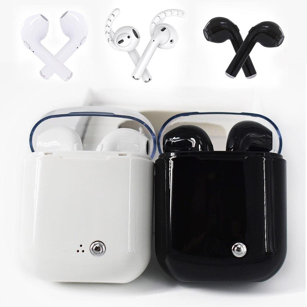 I7 C TWS Sans Fil Casque Bluetooth Écouteurs Stéréo Écouteurs In-Ear Écouteurs Air Microphone Gousses pour Iphone Apple Android