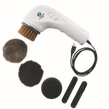 Электрический портативный мини башмак claner многофункциональный аппарат для чистки обуви для автомобиля USB разъем Автоматическая полировка