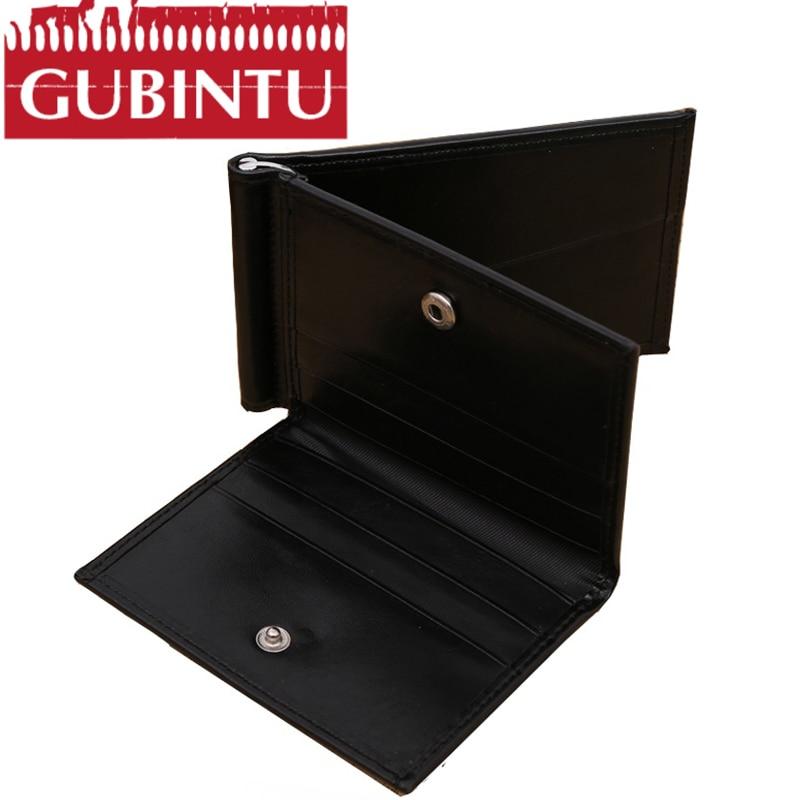 GUBINTU Magnetic Men Money Clips Luxury Brand Male Wallet Steel Clip For Mens Billfold Clamp carteras hombre magic money Clamp все цены