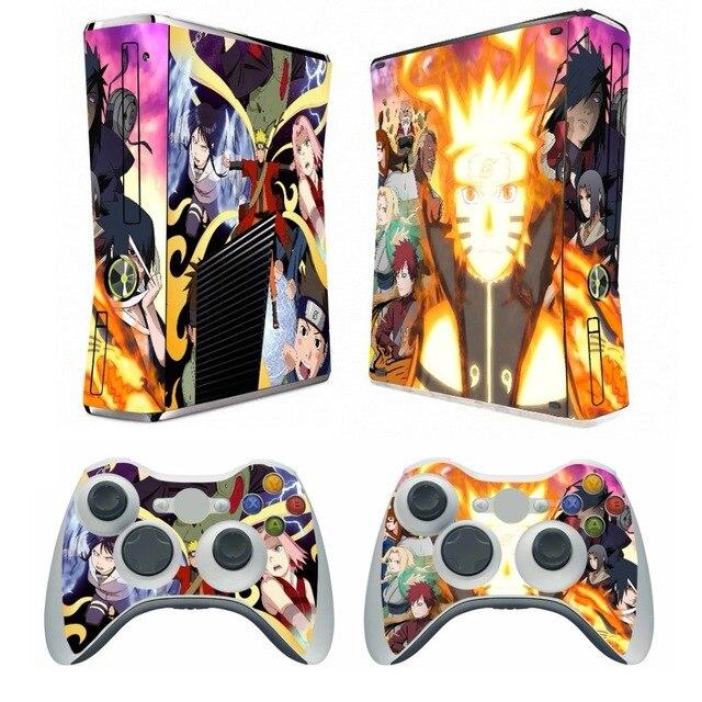 274 Naruto Skora Winylowa Naklejka Protector Dla Microsoft Xbox 360