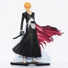 Livraison gratuite Japana anime Bleach Ichigo Kurosaki PVC action figure toys19cm