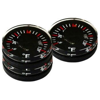 Круговой пластиковый круглый мини-термометр, диаметр 20 мм 0-120F