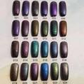 3pcs/lot UV Gel Nail Polish High Quality Soak off Gel 12ml 24Colors for Choose Newest Style Halo Nail Art Gel,change color gel