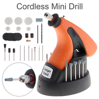 X POWER New 3 6V Rechargeable Cordless Mini Drill 12000RPM Electric Grinder Kit With EU Adapter