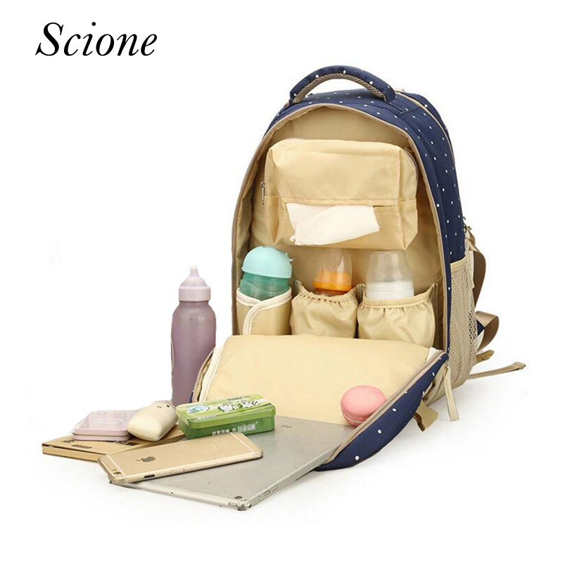 Large Capacity Maternity Backpacks Diaper Backpacks <font><b>For</b></font> Travel Multifunctional Mummy Mother Baby <font><b>Bags</b></font> Nappy Stroller <font><b>Bags</b></font> Li442