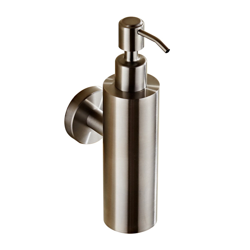 Soap Dispenser Wall Mounted Nickel Bathroom Hand Liquid Soap Dispenser/kitchen Soap Dispenser Stainless Steel Shampoo Bottles