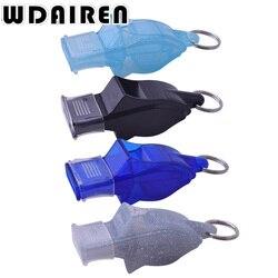 Plástico de alta qualidade de Futebol Basquete Futebol Esportes do Hóquei Clássico borboleta de plástico Apito Do Árbitro Apito de Sobrevivência Ao Ar Livre fox