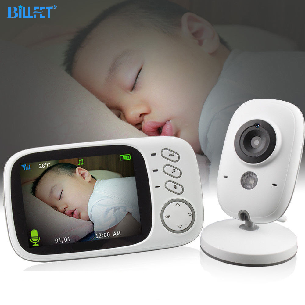 Wireless Digital Baby Video Monitor Security Camera IR