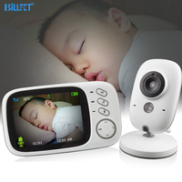 Wireless Digital Baby Video Monitor Security Camera IR Night Vision Lullaby VOX Babyphone Bebek telsizi monitor de bebe Babyfon