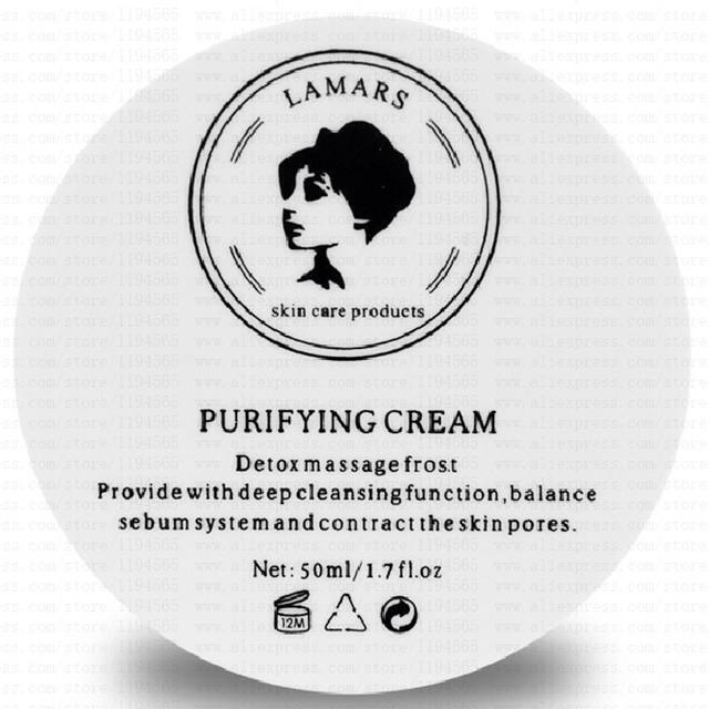 Nuevo purificador de llegada crema purificante desintoxicación crema 50 g profunda limpieza cuidado de la piel