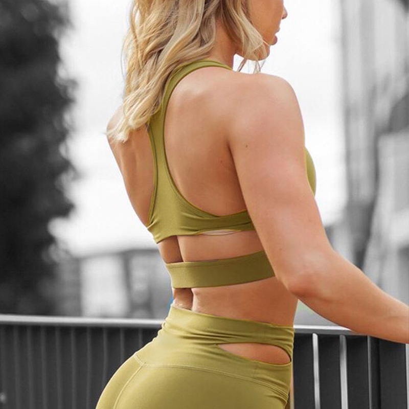 2019 hot new womens fitness trousers set yoga clothes sports running suit women sport sets gym