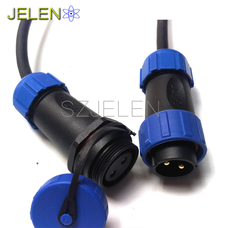 SP2110/P2-SY2111/S2, waterproof Aviation Connector 2 pin Plug socket, IP68, LED Power cable connector, Industrial connector блок управления отопителем ваз 2110 цена
