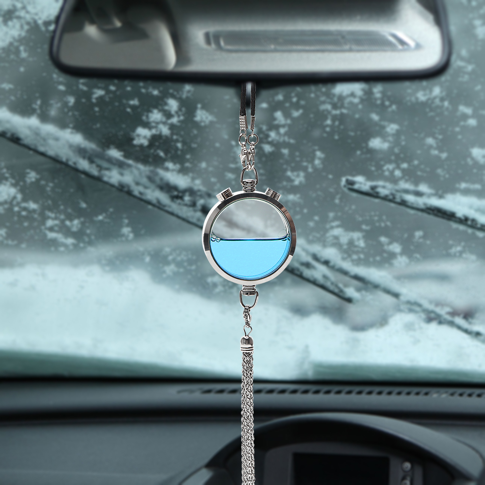 YOSOLO Essential Oil Diffuser Auto Rearview Mirror Air Cleaner Rear View Hanging Pendant Car Ornament Air Freshener Air Perfume
